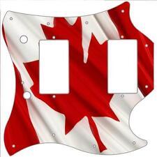 SG Standard Pickguard Custom Gibson Graphic Guitar Pick Guard Canadian Flag 3