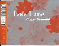 LOIS LANE - Simply beautiful CD SINGLE 2TR HOLLAND 1996