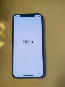 Apple iPhone X - 256GB - Space Gray (Unlocked) A1901 (GSM) was with Verizon