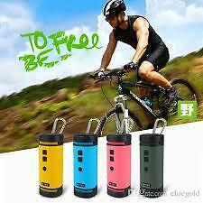 BV350 Outdoor Sports Speaker Bluetooth Wireless With Mic Hands-free Bike Subwoof