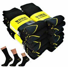 WORK Arbeitssocken 6-24 Paar schwarz Größe 39-50 AUSWAHL Socken Quaters Sneaker
