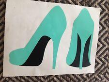 Ladies Shoe Yeti Car Mug iPhone Case Decal Mint Green Sticker  Free Shipping