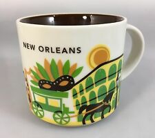 Starbucks New Orleans You Are Here Coffee Mug Cup 14 oz YAH Collection 2015
