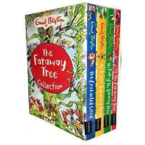 Enid Blytons The Faraway Tree 4 Magical Books Collection Set The M   Blyton Enid