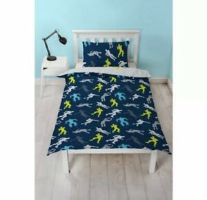 Fortnite Reversible matching Duvet Cover and Pillowcase Set Single Free Postage