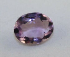 NATURAL AMETHYST GEMSTONE FACETED OVAL 8X10 LOOSE 2CT LIGHT PURPLE GEM AM35A