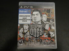 Sleeping Dogs Walmart Exclusive Deeo Undercover Pack (Sony PlayStation 3, 2012)