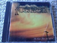 """Focused """"The hope that lies within"""" CD 1995 Spinning Audio"""