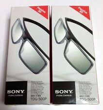 2x (PAIR) - Sony Genuine TDG-500P Passive 3D Glasses TGD500P - NEW