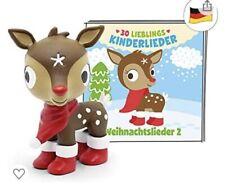 Tonies Weihnachtslieder 2 Musik-Tonie 30 Kinderlieder Rentier