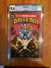 Omega Men #3 CGC 9.6 1st App Lobo DC Comics 1983 WP Key Issue !!!!!!!!!!!!!!!!!!