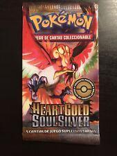 Pokemon Heart Gold Soul Silver Booster Pack Ho Oh Art (Spanish)