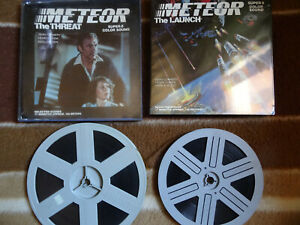 """Super 8mm color sound 1x800'' + 1x400'' """"METEOR"""" a science fiction disaster film"""