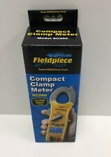 Fieldpiece Compact Clamp Meter True Rms Amp Magnet Temp Sc260 New