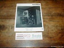Hasselblad 1 Illustrated 1978 Zeeland Aharma Oresteen Sjostedt FREE US SHIPPING
