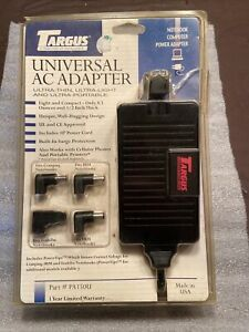 Targus Universal AC Adapter Laptop Charger  16V /2.2 A   w/ 4 Tips (PA150U)