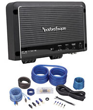 Rockford Fosgate R1200-1D 1200 Watt Rms Class D Mono Amplifier + Amp Kit