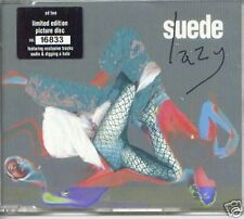 SUEDE LAZY + SADIE + DIGGING A HOLE LTD EDITION NUMBERED PICTURE CD SINGLE 1997