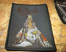 Opeth Collectable Rare Patch English Woven Metal