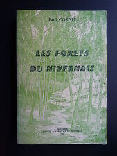 Paul Cornu LES FORÊTS DU NIVERNAIS 1981 Nièvre THÈSE ÉCOLE DES CHARTES