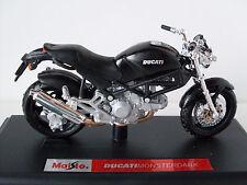 Ducati Monsterdark, Maisto Motorrad Modell 1:18, OVP, Neu
