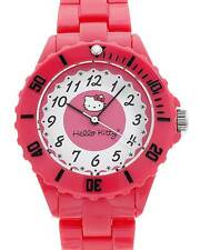 HELLO KITTY  Ladies Watch in Red Plastic Model h3wl1004nonnf-rd
