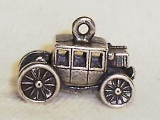 STERLING WILLIAMSBURG , VA GOVERNOR'S TOWN COACH CHARM