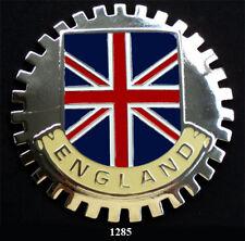 ENGLAND CAR GRILLE  BADGES  - ENGLAND(FLAG)