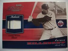 2002 PLAYOFF PIECE OF THE GAME HARMON KILLEBREW PANTS  TWINS   BOX53