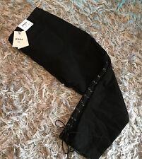 Neues AngebotBnwt New Look Jenna Skinny Denim Jeans Hose UK 18 schwarz 30in Bein