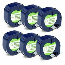 Compatible Label Tape Replacement For Dymo Letratag Labeling Refills 91330