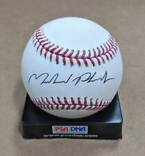 MICHAEL PHELPS OLYMPICS SWIMMING AUTO SIGNED RAWLINGS OFFICIAL BASEBALL PSA/DNA
