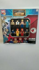 New Block Tech,City Heroes Collection Figures (8 Characters)  Toy~ Free Ship!