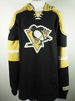 CCM NHL Pittsburgh Penguins Youth Size Distressed Sweatshirt Stitched on Logo