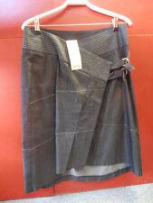 Cotton Blend Casual Asymmetrical Skirts for Women