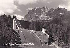"# cortina: trampoline Olympic ""ITALY"" 1960"