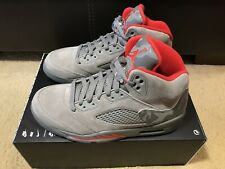 5ba7695d876e60 Nike Air Jordan 5 Retro Reflective Camo Men s sz 8.5 Dark Stucco Red 136027  051