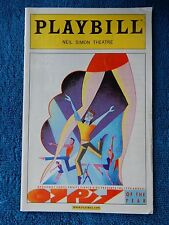 17th Annual Gypsy Of The Year - Neil Simon Playbill - December 2005
