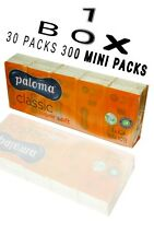 300 MINI PACK PALOMA POCKET TISSUES CLASSIC SUPER SOFT WIPE WITH 10 TISSUES EACH