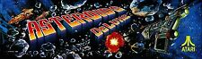 """Asteroids Deluxe Arcade Marquee 23.7"""" x 8.1"""""""