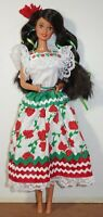 Mexican Barbie Doll Collector Edition Dolls Of The World Collection Mattel 1995