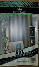 10 x King Palm Natural Leaf Wraps (XXL Size) (2 Pack 10 Rolls)