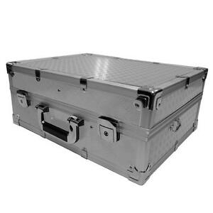 Aluminium Kamera Foto Messgeräte koffer box Kamerakoffer mit Schaumstoff, 60247