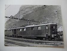 Suis290 SWISS RAILWAY Jahre Schweizer-Bahnen - LOCOMOTIVE POSTCARD Switzerland
