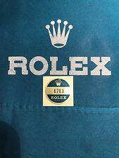 ROLEX DAYTONA 6263 Bollino Sticker Per Corredo Garanzia Fondello
