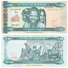 Eritrea 20 Nakfa 2012 P-13 Banknotes UNC