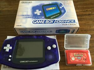 Nintendo GameBoy Advance handheld console comes with Pokemon GBA