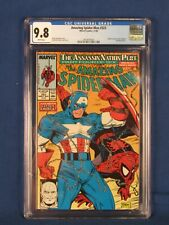 MARVEL COMICS CGC 9.8 AMAZING SPIDER MAN 323 11/89 WHITE PAGES