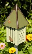 Heartwood Flutterbye House & Pole, Celery Other Colors Available