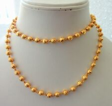 """South Indian Traditional Bollywood Gold Plated 26"""" Long Ethnic Necklaces/ Chain"""